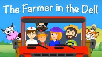 Free download [ Kids Music ] The Farmer in the Dell | Nursery Rhyme w/ Lyrics | Simple Song for Babies  Children video and edit with RedcoolMedia movie maker MovieStudio video editor online and AudioStudio audio editor onlin